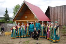 Группа хора Уральские посиделки