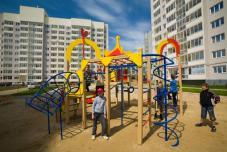 Детская площадка в новом районе